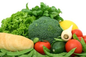 żywność nieprzetworzona